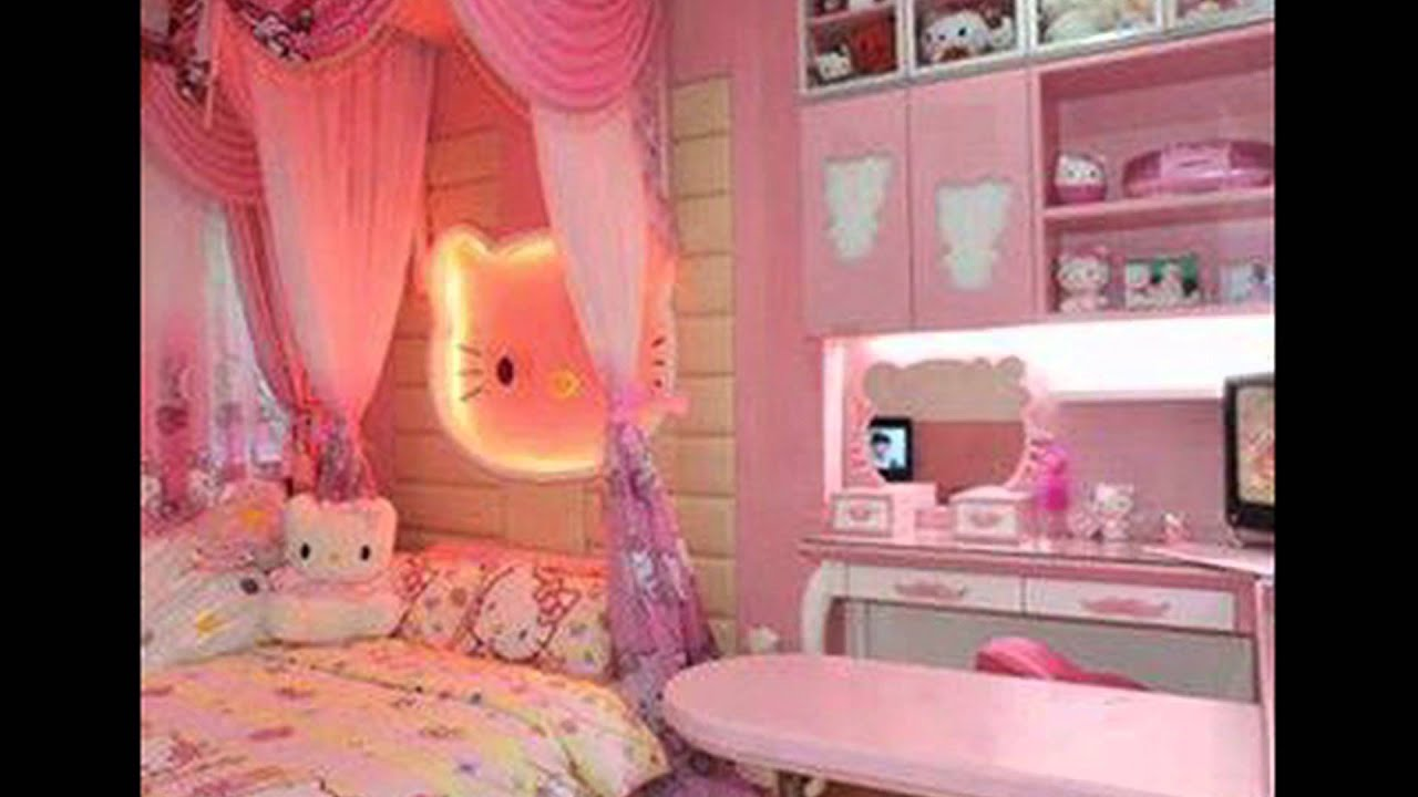 Desain Kamar  Tidur Bernuansa Warna  Pink 1 YouTube