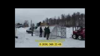 видео дачная теплица из поликарбоната