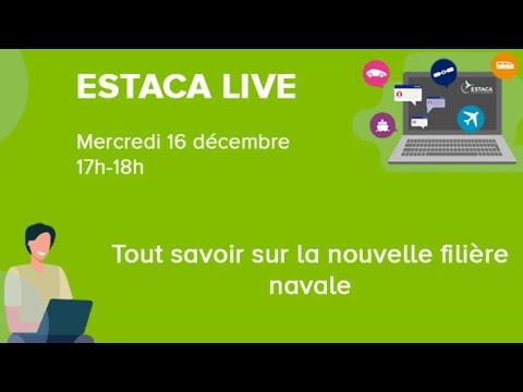 ESTACA LIVE - Tout savoir sur la nouvelle filière navale