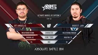 Absolute Battle 5 - UMvC3 - BT Angelic vs Boost Jan