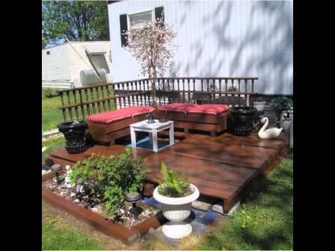 4 video palets jard n y terraza youtube - Palets decoracion terraza ...