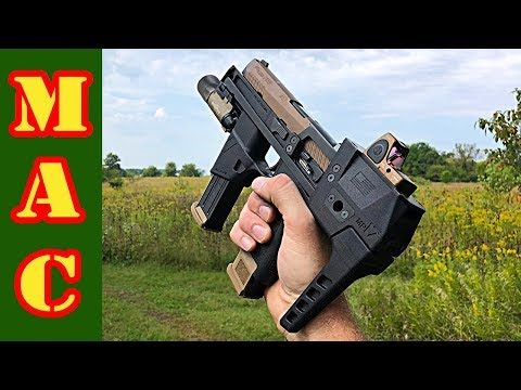 NEW Flux Defense MP17 Sig P320 And M17 SBR Chassis!