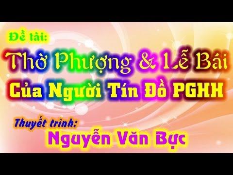 Đề tài: Cúng Lạy Và Thờ Phượng - Nguyễn Văn Bực
