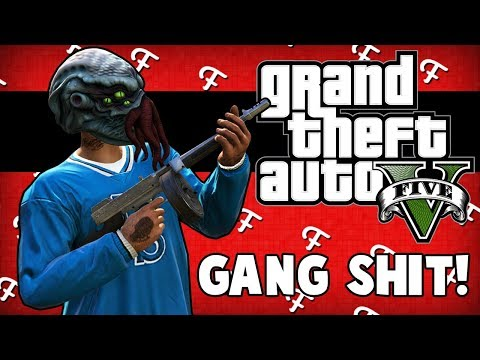 GTA 5: Starting Our Own Gang, Muscle Beach Initiation, Frozen Fight Glitch (Online Comedy Gaming)