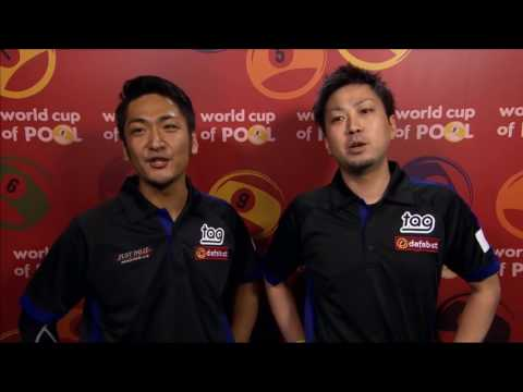 Thumbnail: Naoyuki Oi 大井直幸 Hilarious Interview 2017 World Cup of Pool PART TWO