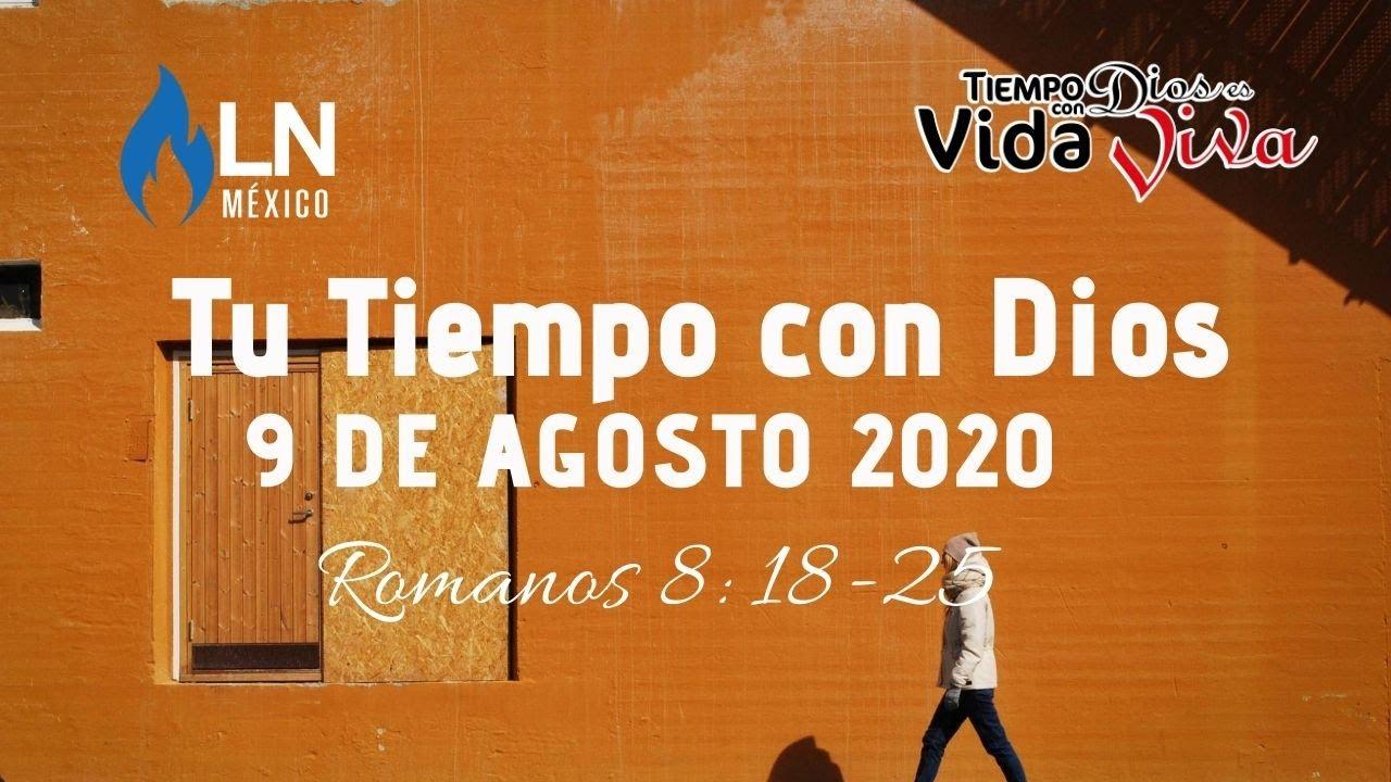 Tu tiempo con Dios 9 de Agosto de 2020 (Romanos 8:18-25)