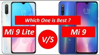 Xiaomi Mi 9 Lite vs Xiaomi Mi 9 || Mi 9 Se|| || Comparison || By Mobile Comparison