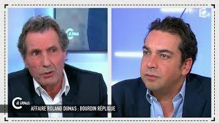 """""""Influence juive"""", Jean-Jacques Bourdin face à Patrick Cohen - C à vous - 09/03/2015"""