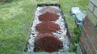 Садовая дорожка из битой плитки.Garden p...