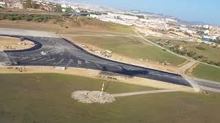 Descolagem do aeroporto de Lisboa 2017