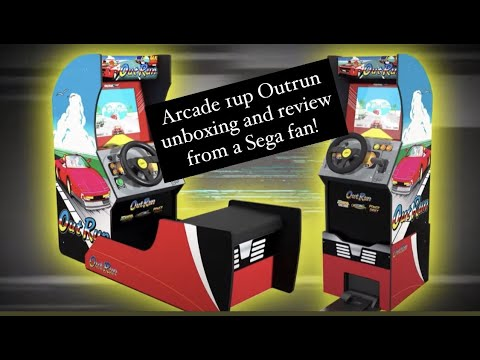Arcade 1up Sega Outrun Unboxing and review from a true Outrun fan! from phillysphamous