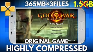 How To Download God of War For Android   Ghost of Sparta   highly  Compressed   365MB   Hindi/urdu by Royal Gamer