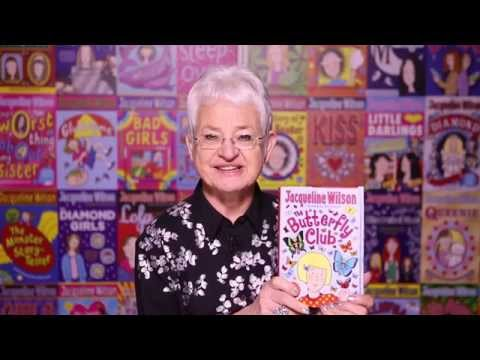 Jacqueline Wilson - The Butterfly Club is out tomorrow
