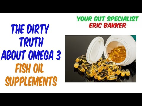 The Dirty Truth About Omega 3 Fish Oil Supplements