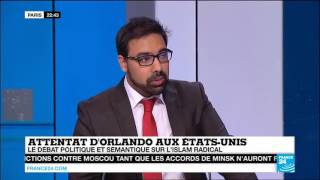 France 24 French: Ahmadiyya spokesperson Asif Arif on Trump & Islamophobia