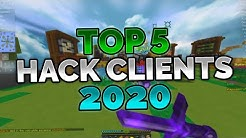 Top 5 Gratis Minecraft Hack Clients (2020)