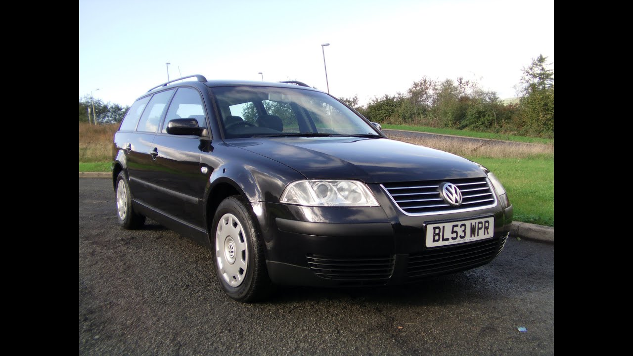 2004 vw passat estate 1 9 tdi 130 91k fsh now sold youtube. Black Bedroom Furniture Sets. Home Design Ideas