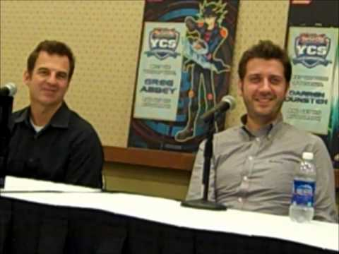 Yugioh Voice Actor Panel - YGO YCS in Rhode Island (October 20, 2012)