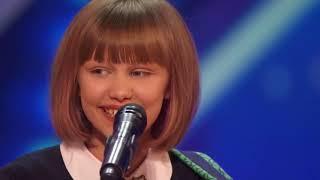 14-летняя победительница шоу Америка имеет талант!  Русские субтитры Grace VanderWaal subtitles.