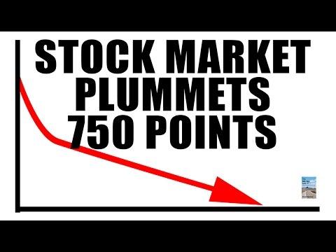 Stock Market PLUMMETS 750 Points as U.S. Election Fear Spreads!