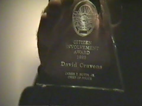 "David Cravens is Santa Monica's ""Citizen of the Year"" 1993"