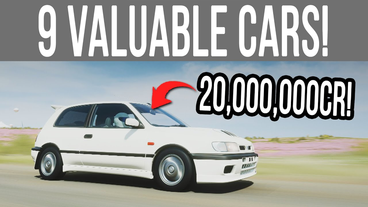 Forza Horizon 4 - 9 *NEW* Most Valuable Cars That SELL For Millions of Credits! thumbnail