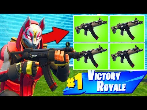 *NEW* QUAD SMG is OP in Fortnite Battle Royale thumbnail