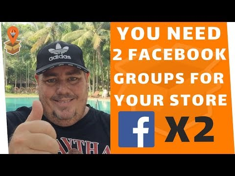 You Need 2 Facebook Groups For Your Store - Dropship Downunder - Drop Shipping Australia