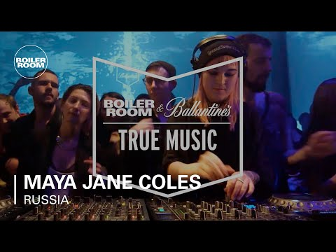 Maya Jane Coles Boiler Room & Ballantine's True Music Russia DJ Set