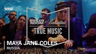 Boiler Room And Ballantine S True Maya Jane Coles Cosmin Trg