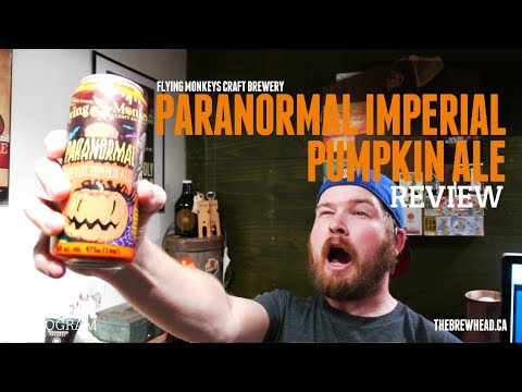 REVIEW: Paranormal Imperial Pumpkin Ale by Flying Monkeys Craft Brewery