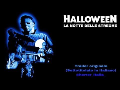 HALLOWEEN , LA NOTTE DELLE STREGHE (Trailer + Sottotitoli in Italiano)