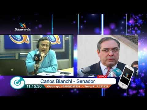 Senador Carlos Bianchi - Reunión con Pdta Bachelet, Propuestas reformas AFP