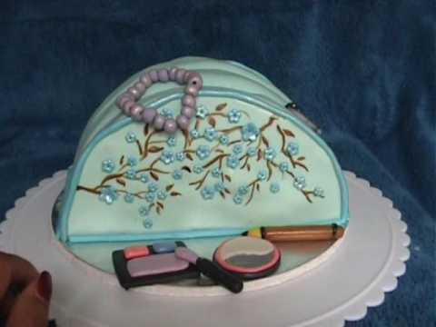Birthday Cakes Makeup Bag