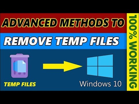 10 Advanced Methods to Clear All Cache and Temp files in Windows 10