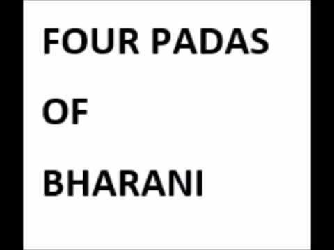 Do not ignore the 4 Padas of Bharani  Nakshatra