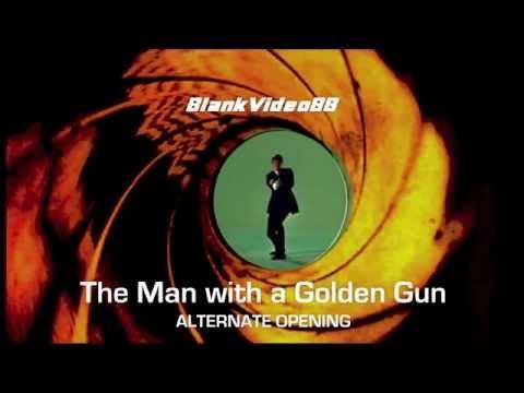 THE MAN WITH A GOLDEN GUN ALTERNATE OPENING