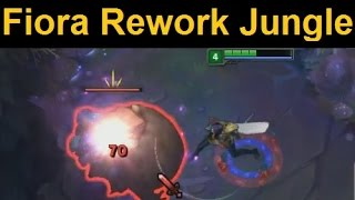 Can Fiora Rework Jungle? Spoilers: Sorta...