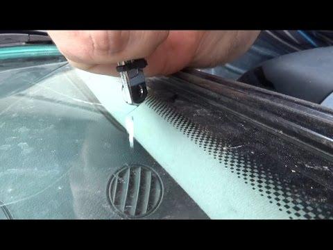 Заделать трещину лобового стекла своими руками фото 582