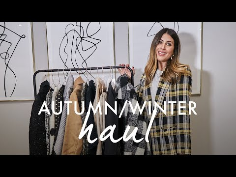AUTUMN WINTER HIGH STREET HAUL | TOPSHOP / H&M / ASOS / MANGO / & OTHER STORIES | WE ARE TWINSET