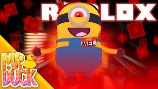 HOW DO WE STOP MEL THE MINION!? - Roblox Minions Adventure Obby: Despicable Forces!! - Part 2