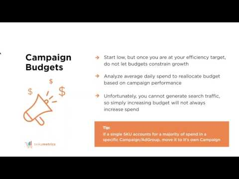 How to Lower Your Amazon Sponsored Products ACOS - Webinar Replay