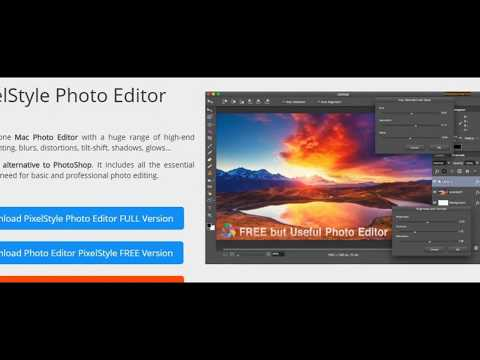 PixelStyle Photo Editor for Mac