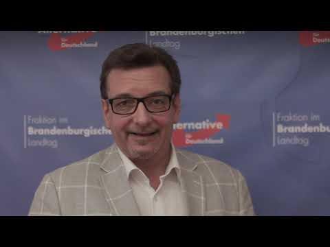 """Sven Schröder: """"Wenn nicht sofort ein Umdenken stattfindet, wird die Lausitz kein Einzelfall bleiben, sondern Vorbild sein für ein karges, armes und kraftloses Deutschland der Zukunft."""""""