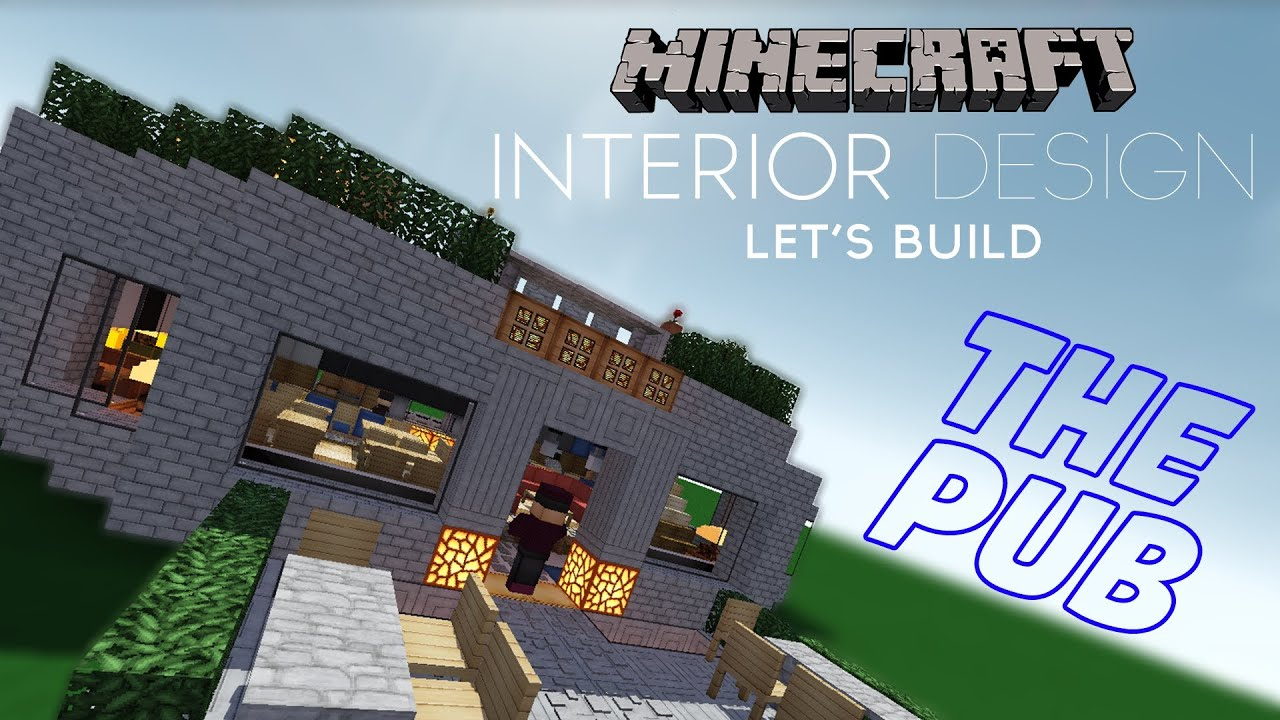 Minecraft Interior Design - Pub