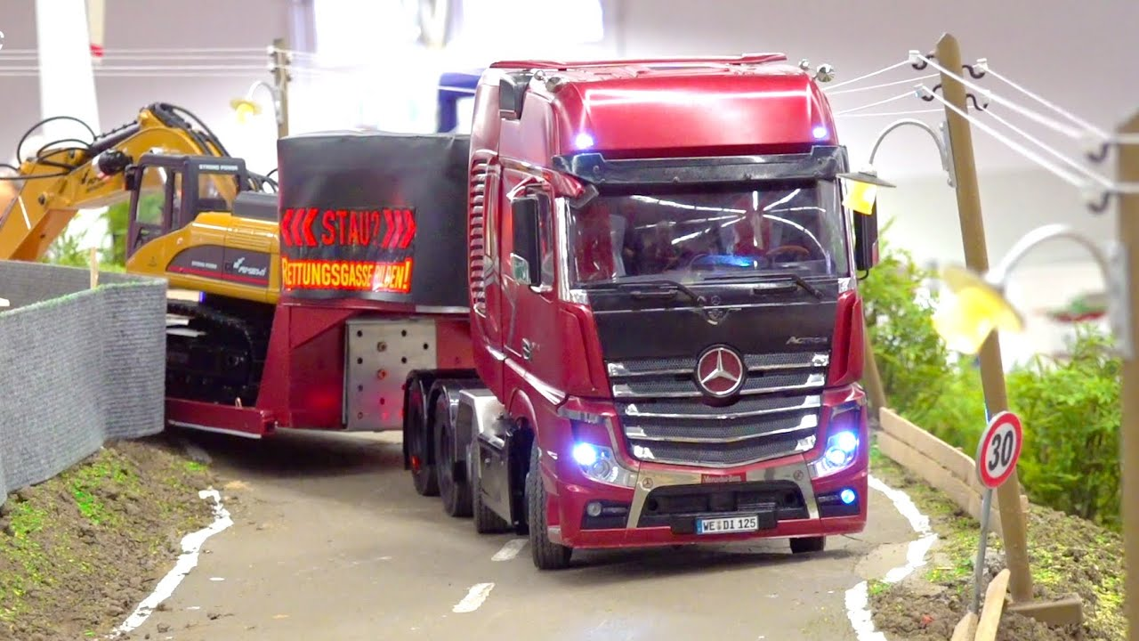 BEST OF RC TRUCKS AND HEAVY HAULAGE RC TRUCKS // SWISS RC TRUCKS // RC SHOW TRUCKS // SCANIA
