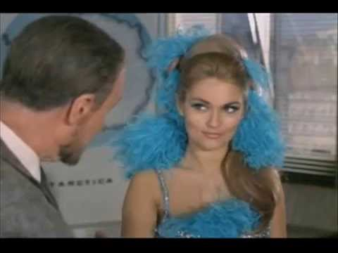 Champions: Sharron Macready (Alexandra Bastedo) 'Never Underestimate a Girl.'