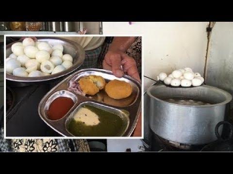 अंडा भजी किंग | aanda bhaji | Famous Annda Bhaji | Indian Street Food |  अंडा पकोडा | eggs