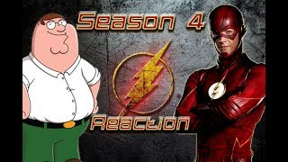 Family Guy Reacts to The Flash Season 4 Trailer