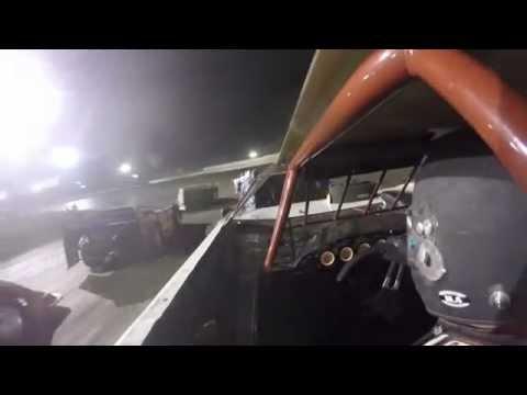 Fairbury American Legion Speedway 5 23 15 Feature Inside Kevin Weavers B12  Super Late Model